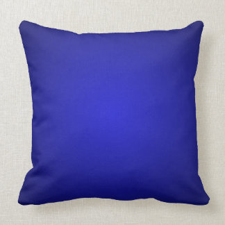 Mod Blue Dimensional 3D Spectrum Decor Pillow