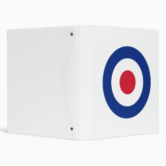 MOD Blue Red and White Binder