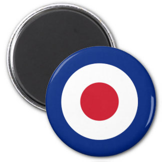 MOD Blue Red and White Magnet