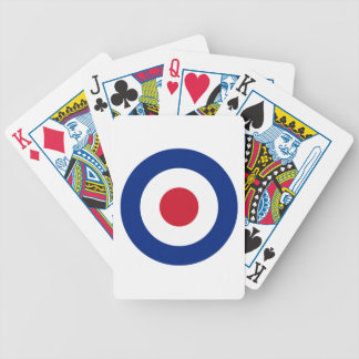 MOD Blue Red and White Playing Deck of Cards