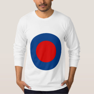 Mod British Army Roundel Men's Long-Sleeved Tee