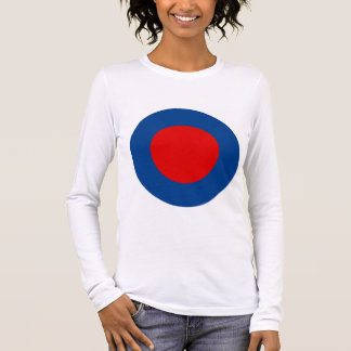 Mod British Army Roundel Women's Long-Sleeved Tee