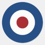 Mod Bullseye Archery Target Classic Round Sticker