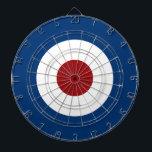 "Mod Bullseye Archery Target Dart Board<br><div class=""desc"">Mod Bullseye Archery Target in Red White and Blue</div>"