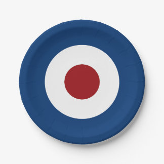 Mod Bullseye Archery Target Paper Plate