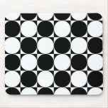 Mod Checkerboard Mouse Pad
