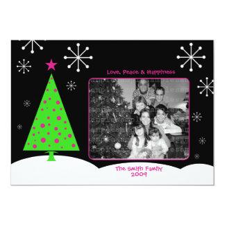 Mod Christmas Photo Card