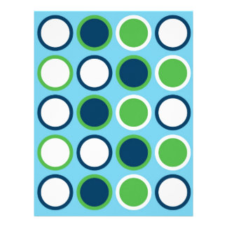 Mod Circle Baby Scrapbook Paper