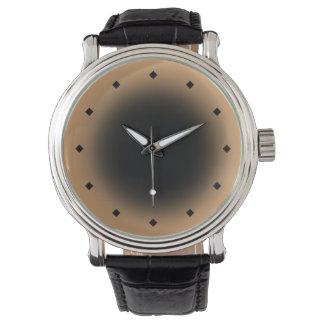Mod Circle Gradient (black khaki) Watches