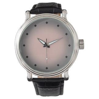 Mod Circle Gradient (pink grey) Wrist Watches