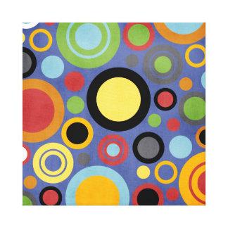 Mod Circles Color Pop Wall Art
