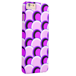 Mod Circles Pink and Purple iPhone 6/6s Plus Barely There iPhone 6 Plus Case