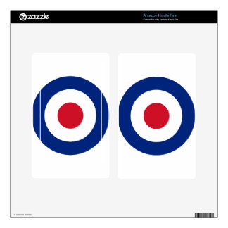 Mod - Classic Roundel - Bullseye Archery Target Kindle Fire Decal