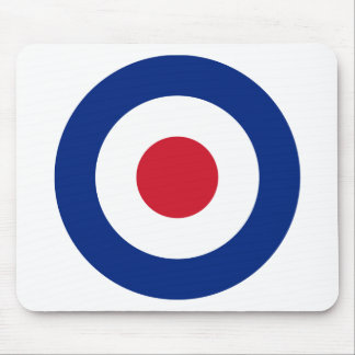 Mod - Classic Roundel - Bullseye Archery Target Mouse Pad