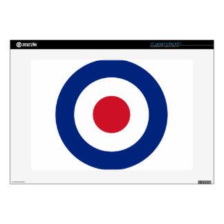"Mod - Classic Roundel - Bullseye Archery Target Skin For 15"" Laptop"