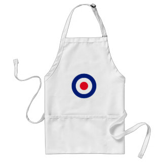 MOD Classic Roundel Target Graphic Adult Apron
