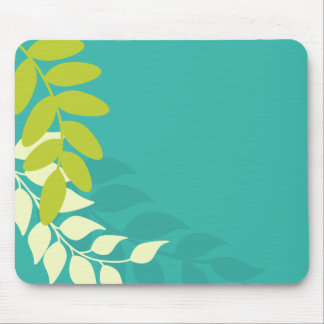 Mod Colorful Leaves Mouse Pad