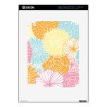 MOD colorida floral Pegatina Skin Para iPad 3