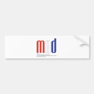 Mod_Cons Bumper Stickers
