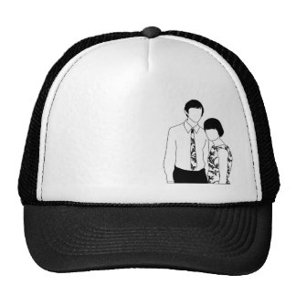 Mod Couple cap Trucker Hat