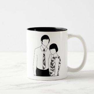 Mod Couple mug