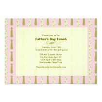Mod Dad Father's Day Invitation
