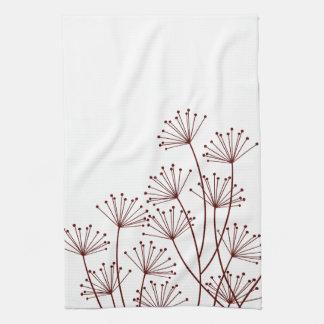 Mod Dandelions Designer Kitchen Towel
