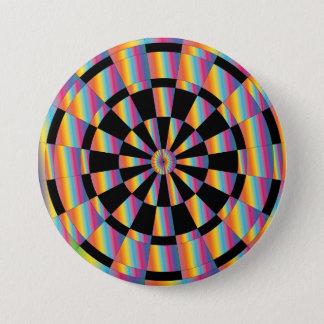 Mod Dartboard Pinback Button