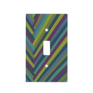 MOD del extracto del verde púrpura y verde oliva r Cubiertas Para Interruptor