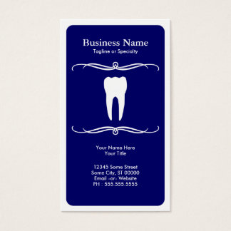 mod dental business card