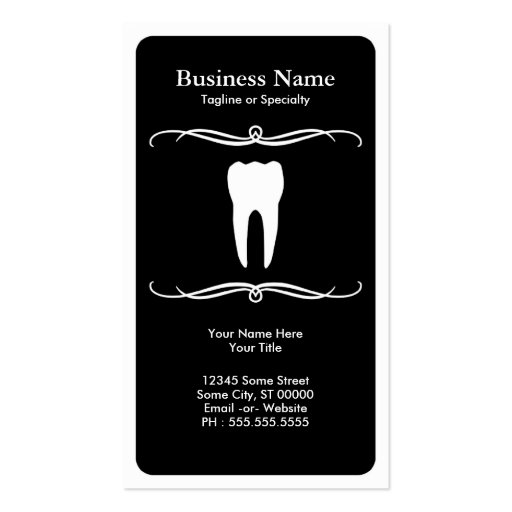 mod dental business card templates
