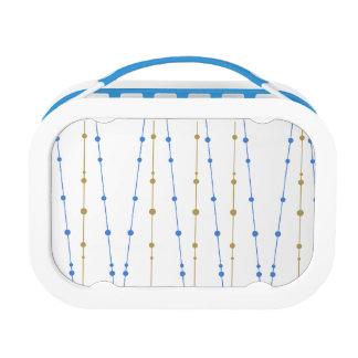 Mod Dewdrops Pattern Lunchbox