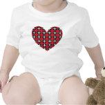Mod Diamond Heart Tshirts