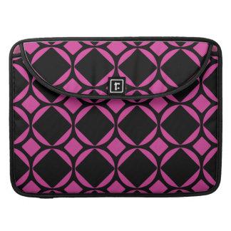 Mod Diamonds (Pink & Black) MacBook Pro Sleeve
