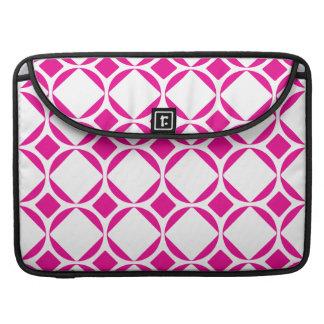 Mod Diamonds (Pink & White) MacBook Pro Sleeve