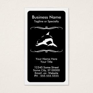 mod dolphin business card