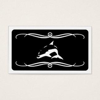 mod dolphin (color customizable) business card
