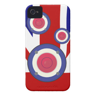 Mod effect speakers on UJ Flag Case-Mate iPhone 4 Case