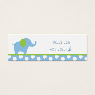 Mod Elephant Party Favor Gift Tags