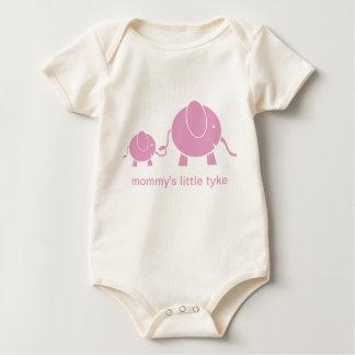Mod Elephants Organic Infant Bodysuit