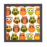 Mod Fall Owls Premium Trinket Box