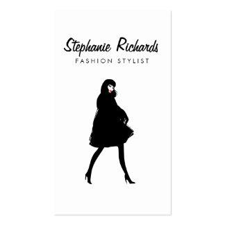 Mod Fashion Girl III Stylist, Boutique Business Card