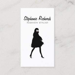 Fashion business cards 21200 fashion business card templates mod fashion stylist boutique business card colourmoves
