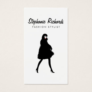 Mod Fashion Stylist, Boutique Business Card