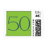 Mod Fifty Clover Postage Stamps