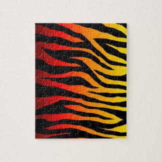 Mod Firey Zebra Pattern Puzzles