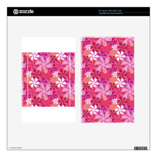 Mod Floral Decals For Kindle Fire