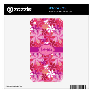 Mod Floral Skins For iPhone 4S