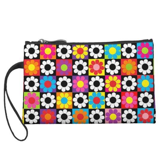 Mod Flower Power Wristlet Wallet
