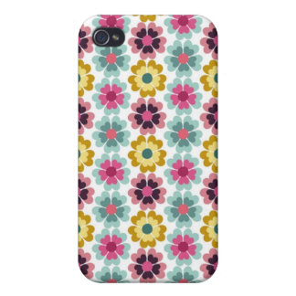 Mod Flowers iPhone 4 Cases
